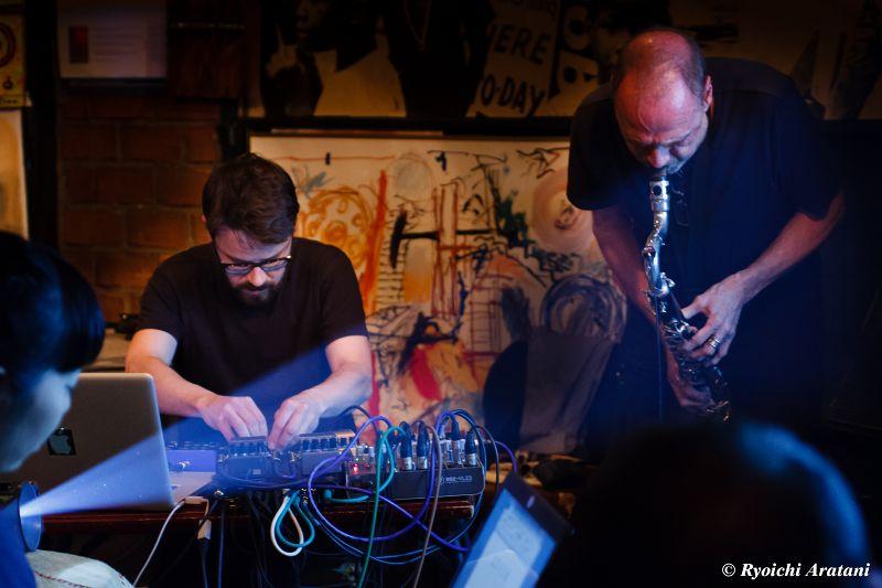 Hans Koch & Gaudenz Badrutt live @ Airegin / Yokohama